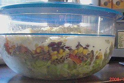 Mexikanischer Schichtsalat 65