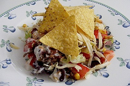 Mexikanischer Schichtsalat 10