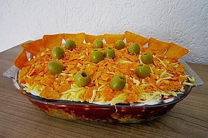 Mexikanischer Schichtsalat 29