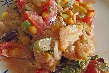 Mexikanischer Schichtsalat 50