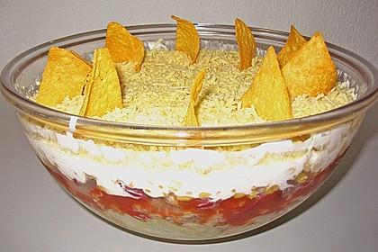 Mexikanischer Schichtsalat 25
