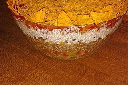 Mexikanischer Schichtsalat 16