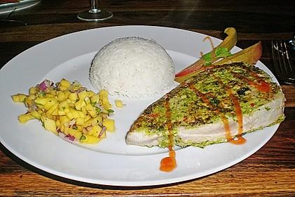 Koriander - Thunfischsteak mit Mango Salsa 16