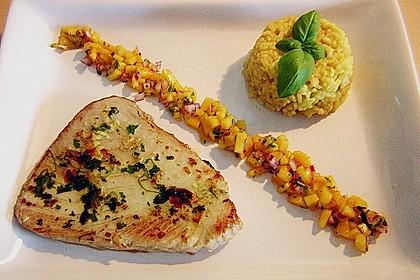Koriander - Thunfischsteak mit Mango Salsa 1