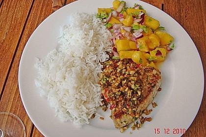Koriander - Thunfischsteak mit Mango Salsa 5