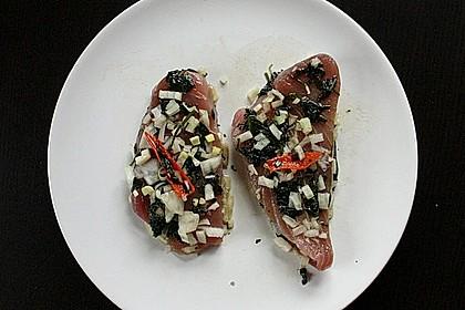 Koriander - Thunfischsteak mit Mango Salsa 21