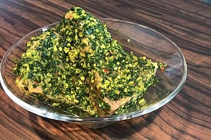 Koriander - Thunfischsteak mit Mango Salsa 9