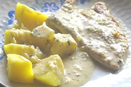 Putenschnitzel mit Gorgonzolasauce 1