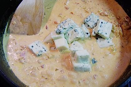 Putenschnitzel mit Gorgonzolasauce 5