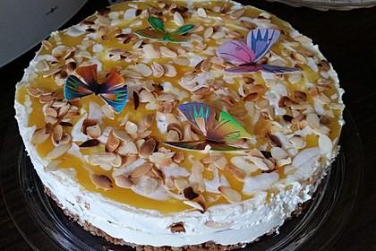 Philadelphia Pfirsich Torte 1