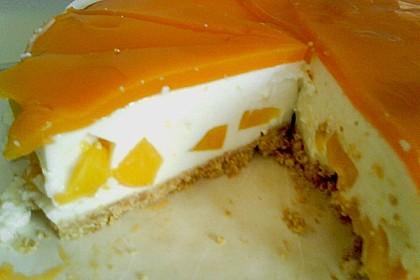 Philadelphia Pfirsich Torte 4