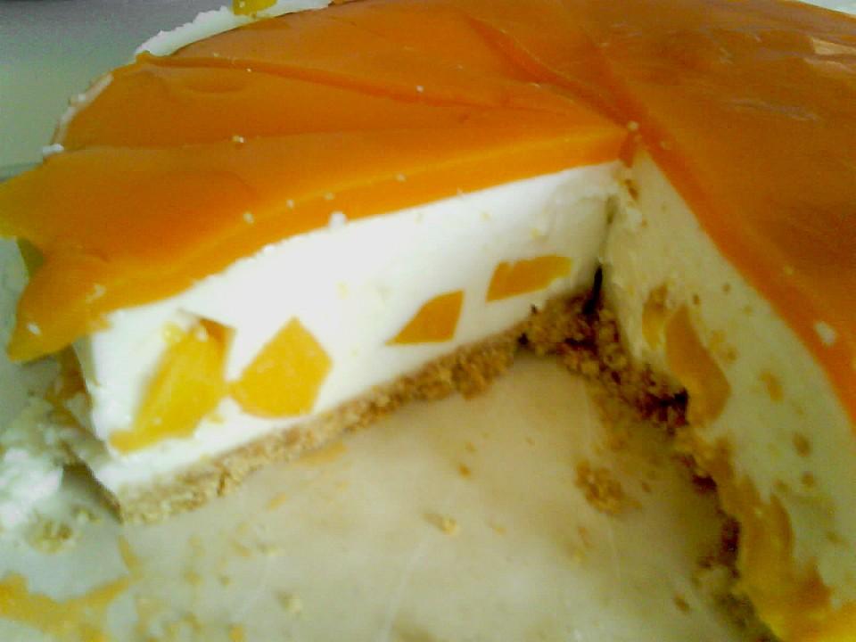 Philadelphia Pfirsich Torte Von Kathy36 Chefkoch De