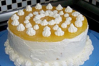 Philadelphia Pfirsich Torte 2