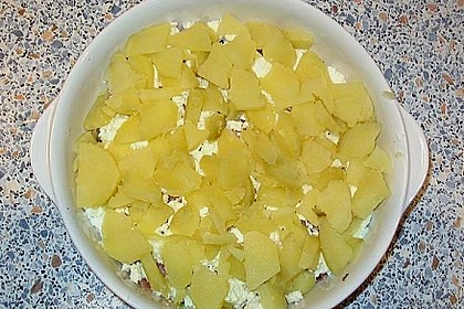 Schafskäse - Kartoffel Auflauf 34