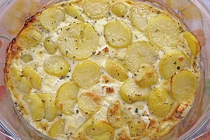 Schafskäse - Kartoffel Auflauf 8