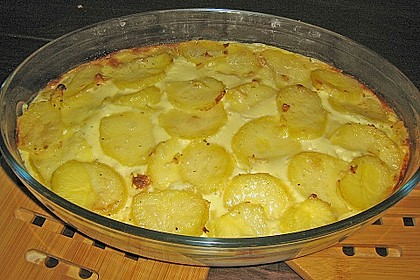 Schafskäse - Kartoffel Auflauf 6