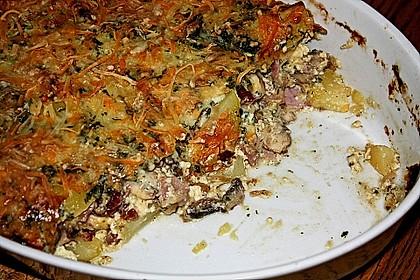 Schafskäse - Kartoffel Auflauf 20