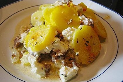 Schafskäse - Kartoffel Auflauf 16