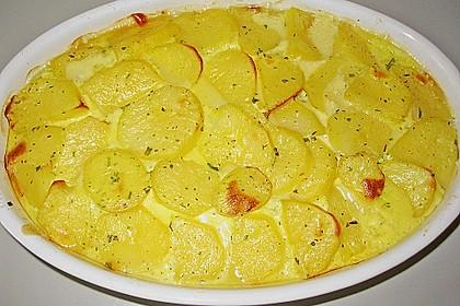 Schafskäse - Kartoffel Auflauf 3