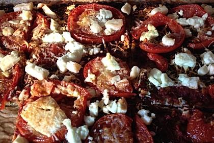 Zucchini-Thunfisch Pizza ohne Mehl 5