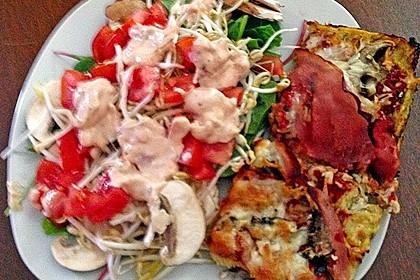 Zucchini-Thunfisch Pizza ohne Mehl 1