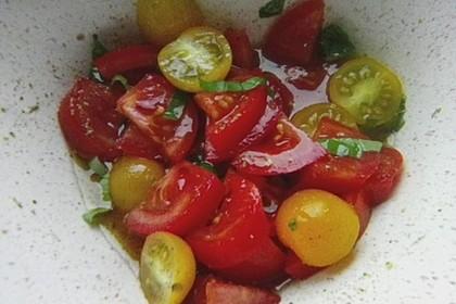 Tomatensalat sizilianisch 4