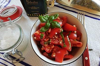 Tomatensalat sizilianisch