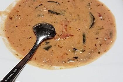 Käse-Hack-Suppe mit Zucchini 2