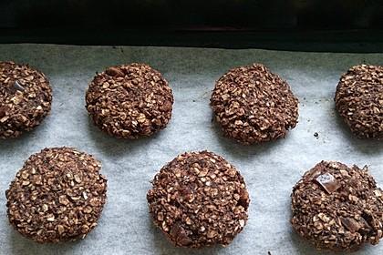 Schokoladen-Bananen-Cookies 1