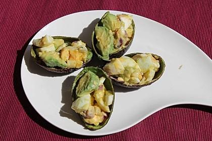 Avocado-Eier-Salat Colombienne 3