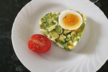 Avocado-Eier-Salat Colombienne 4
