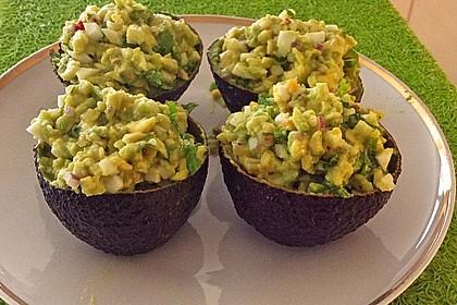 Avocado-Eier-Salat Colombienne