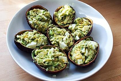 Avocado-Eier-Salat Colombienne 1