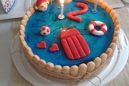 Swimmingpool Torte 2
