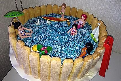 Swimmingpool Torte 3