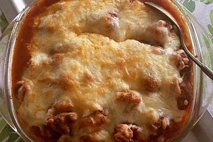Gnocchiauflauf mit Tomaten und Mozzarella 4