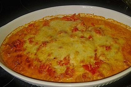 Gnocchiauflauf mit Tomaten und Mozzarella 6
