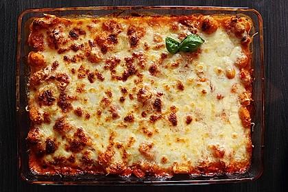 Gnocchiauflauf mit Tomaten und Mozzarella 2