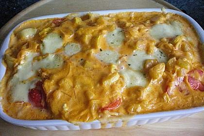 Gnocchiauflauf mit Tomaten und Mozzarella 9