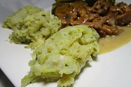 Wirsing-Kartoffel-Püree