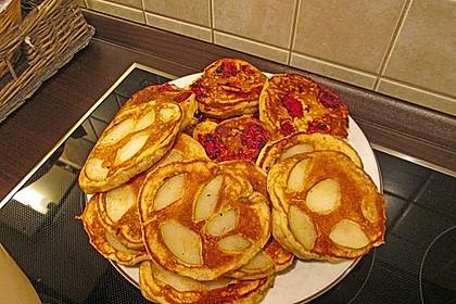 Honig-Vanille-Pancakes (Bild)