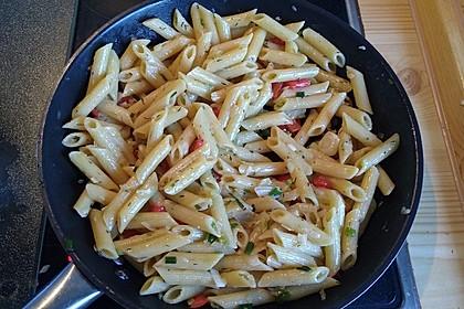 Knoblauchspaghetti 1