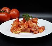Ganz schneller Tomatensalat (Bild)
