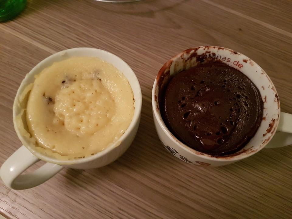 Saftiger Tassenkuchen Mit Joghurt Aus Der Mikrowelle Von Backfee 00