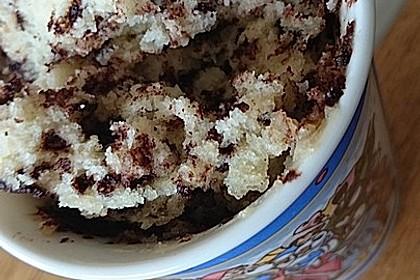 Saftiger Tassenkuchen mit Joghurt aus der Mikrowelle (Bild)