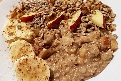 Schneller Porridge - mit Varianten 20