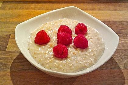 Schneller Porridge - mit Varianten