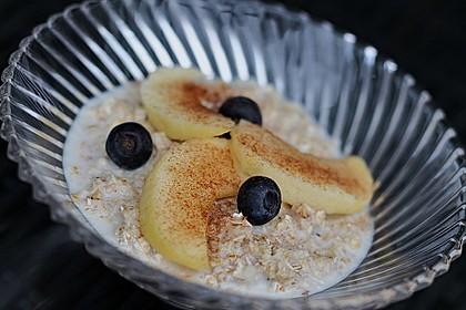 Schneller Porridge - mit Varianten 1