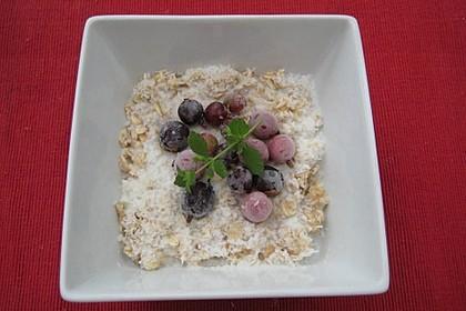 Schneller Porridge - mit Varianten 10