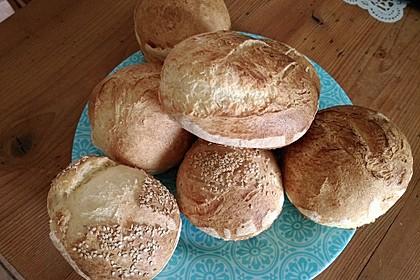 Glutenfreie Frühstücksbrötchen 7